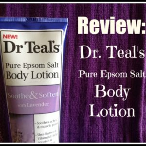 Review: Dr. Teal's Pure Epsom Salt Body Lotion | Does it really help relieve body aches? Find out here!
