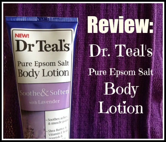 Dr. Teal's Pure Epsom Salt Body Lotion is affordably priced and sold at Walmart. So, is it any good? Is it moisturizing? Does it help with muscle aches and pains? Find out here!