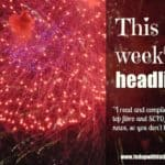This week's headlines (week of April 13, 2015)