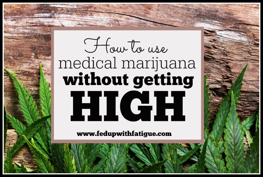 Marijuana has gained a lot of attention lately as a potential treatment for fibromyalgia. By using CBD-rich cannabis products, you can reap some of the medicinal benefits of marijuana without the high. | FedUpwithFatigue.com