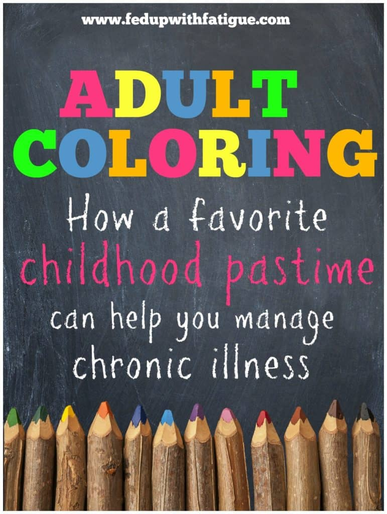 Adult coloring | How a favorite childhood pastime can help you manage chronic illness
