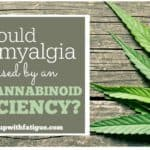 Could fibromyalgia be caused by an endocannabinoid deficiency?