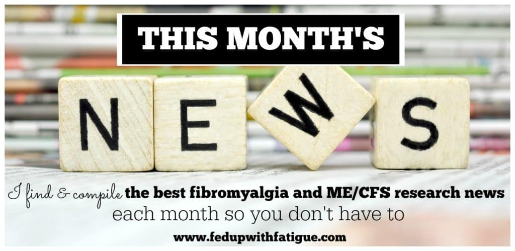 April 2016 fibromyalgia and ME/CFS research news