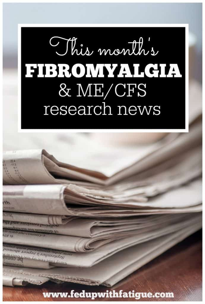 May 2016 fibromyalgia and ME/CFS research news