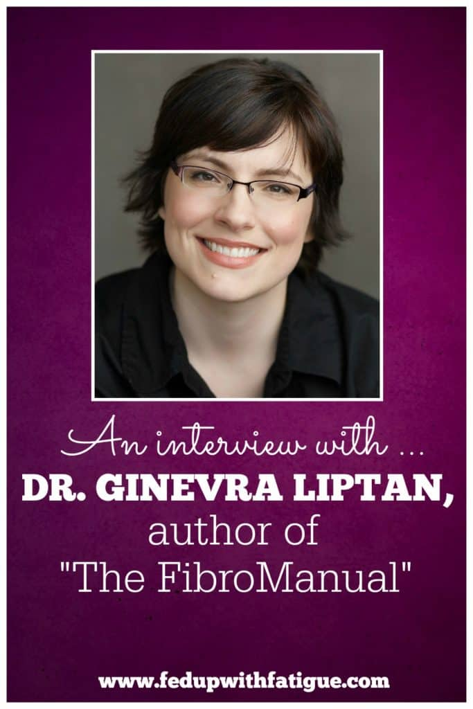 "An interview with Dr. Ginevra Liptan, author of ""The FibroManual: A Complete Fibromyalgia Treatment Guide for You and Your Doctor"" and founder of The Frida Center for Fibromyalgia."