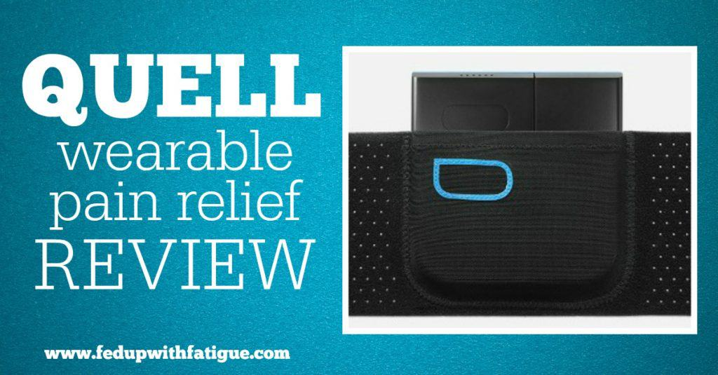 Quell wearable pain relief review + interview