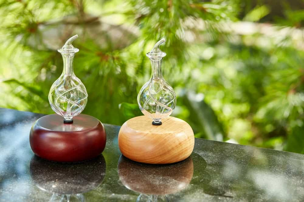 My Organic Aromas diffuser is a beautiful addition to my home decor - so much better than those ugly, plastic diffusers!