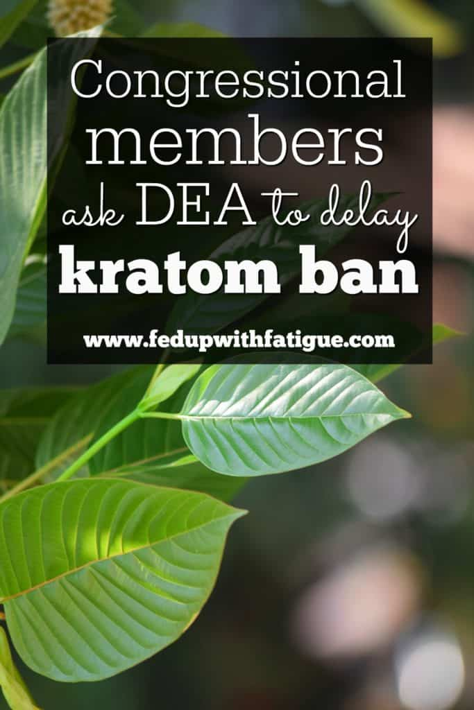 More than 50 congressional members have asked the DEA to delay its plan to ban kratom as of Oct. 1.