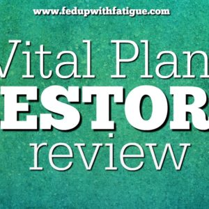 The Vital Plan Restore Program was developed by Dr. Bill Rawls for those with fibromyalgia, chronic fatigue and Lyme.