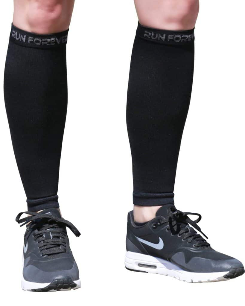 I use these calf compression sleeves all the time for shin pain.