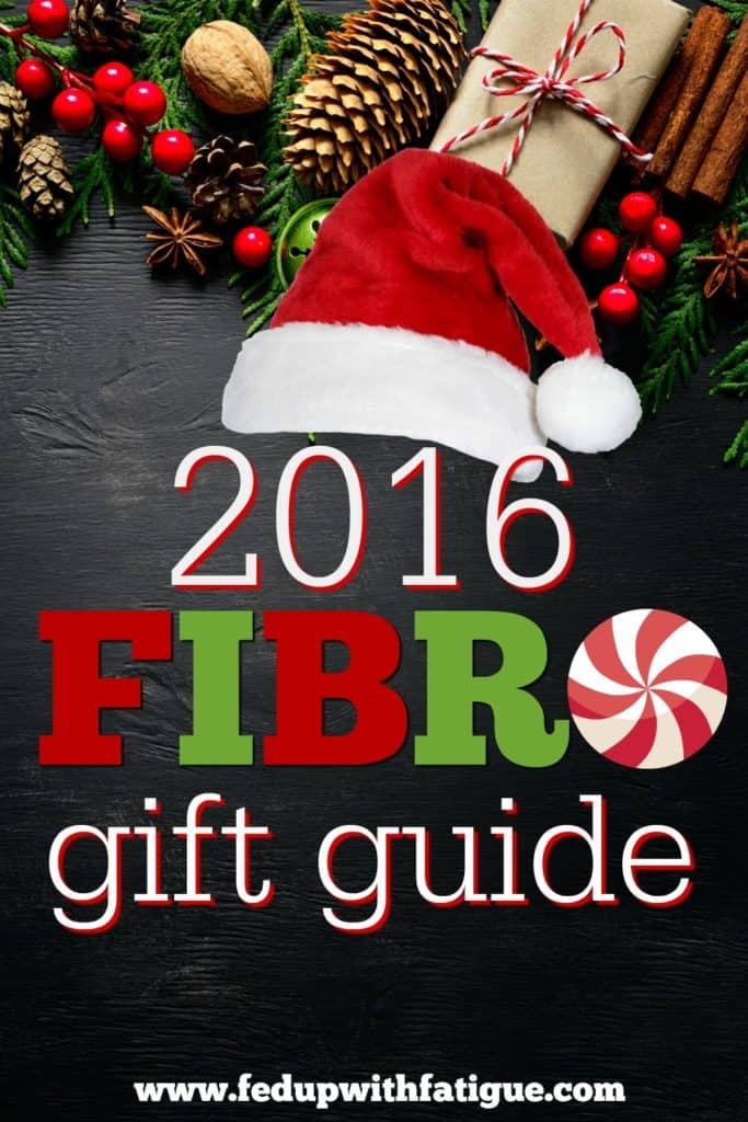 2016 Fibromyalgia Gift Guide | Curated by FedUpwithFatigue.com