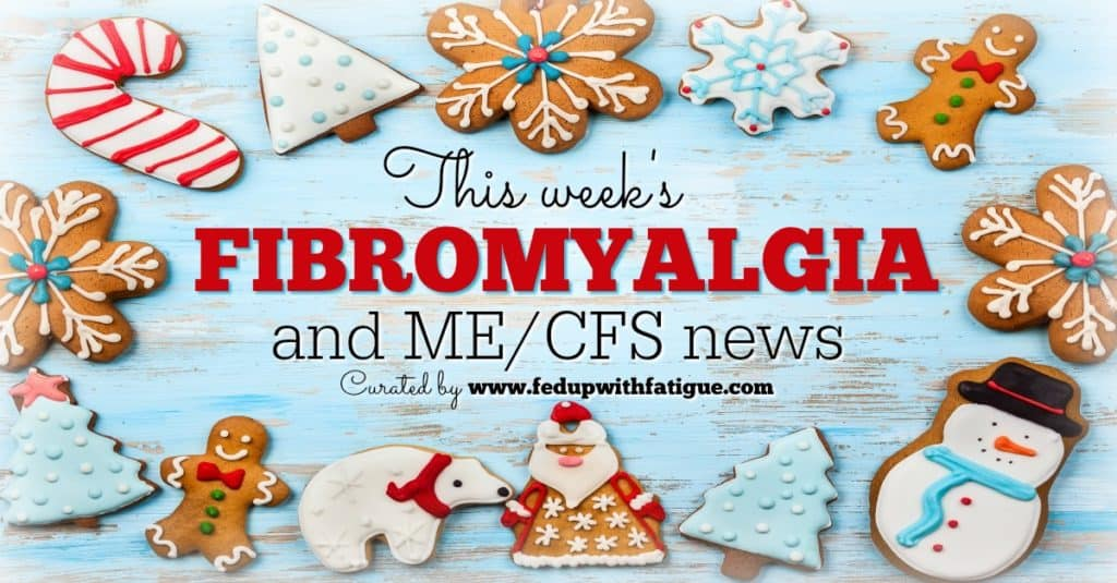 Friday 5: Dec. 23, 2016 fibromyalgia and ME/CFS news