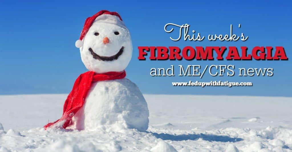 Friday 5: Dec. 30, 2016 fibromyalgia and ME/CFS news