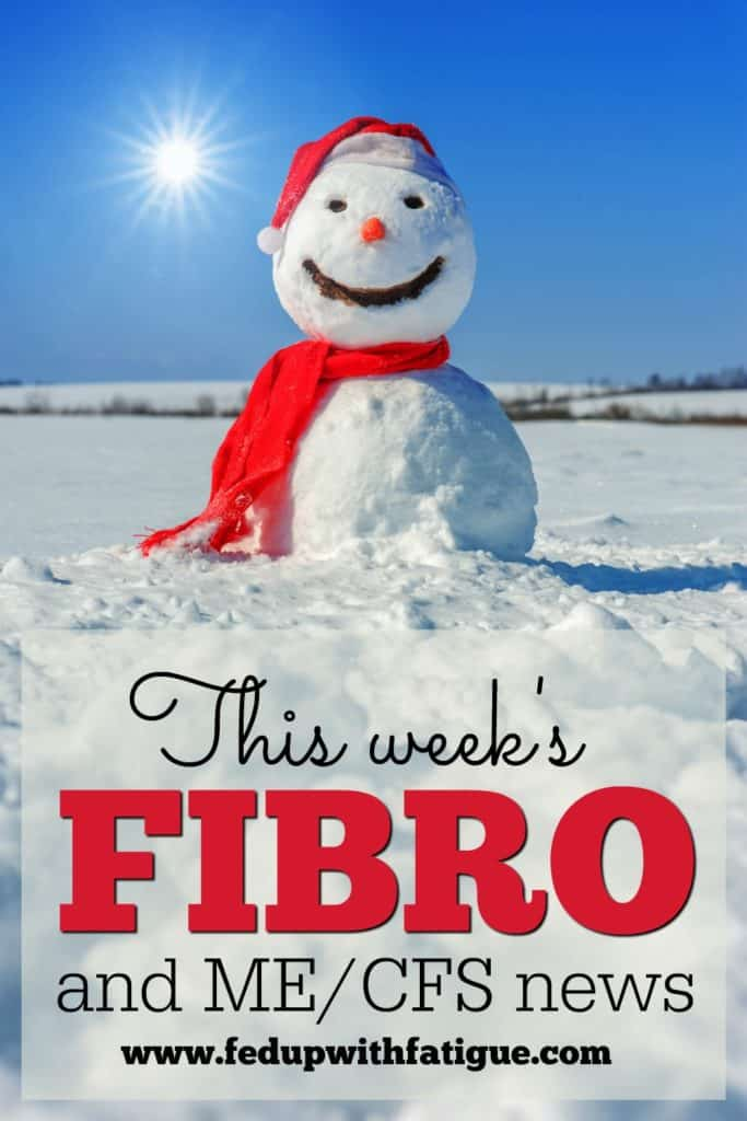 Dec. 30, 2016 fibromyalgia and ME/CFS news | Curated weekly by FedUpwithFatigue.com