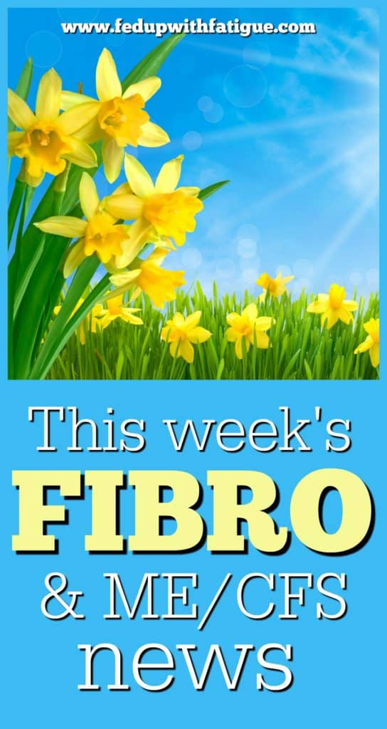 March 31, 2017 fibromyalgia and chronic fatigue news curated weekly by FedUpwithFatigue.com