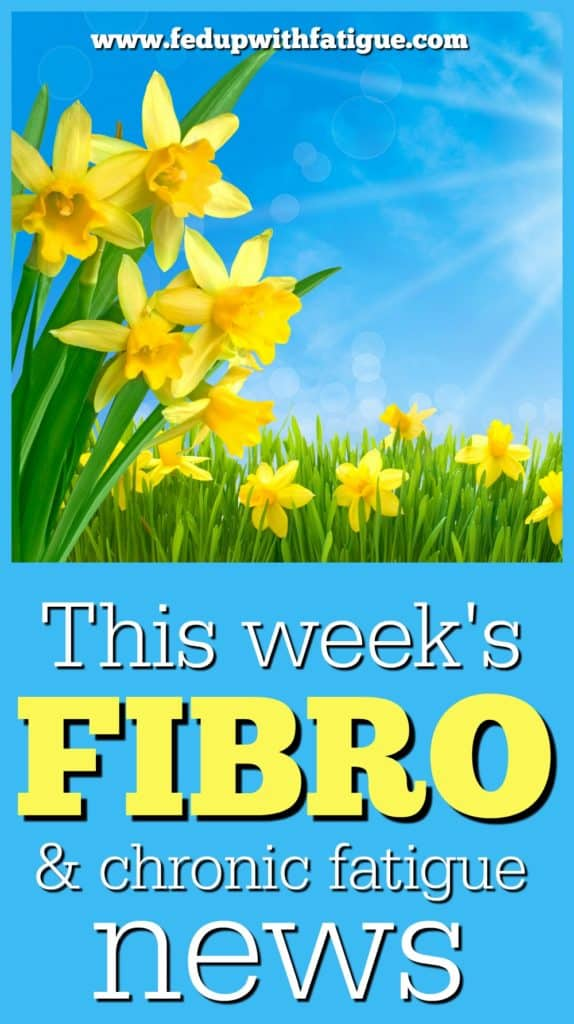 April 21, 2017 fibromyalgia and chronic fatigue news | Fed Up with Fatigue