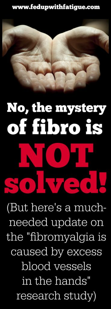 Fibromyalgia Mystery Solved Update | Fed Up with Fatigue