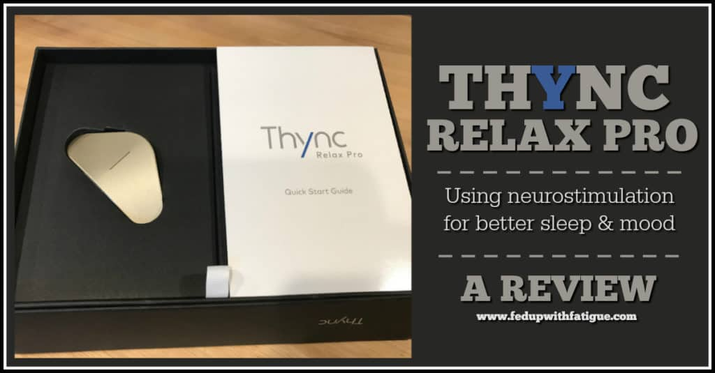 Thync review | Using neurostimulation for better sleep & mood | Fed Up with Fatigue