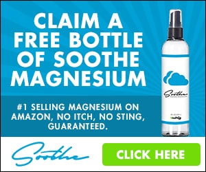 Get a free bottle of Soothe Magnesium - just pay shipping! | Fed Up with Fatigue