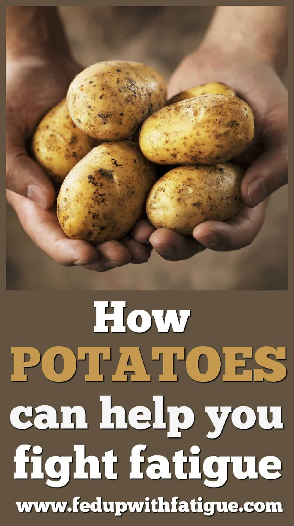 How potatoes can help you fight fatigue   Fed Up with Fatigue