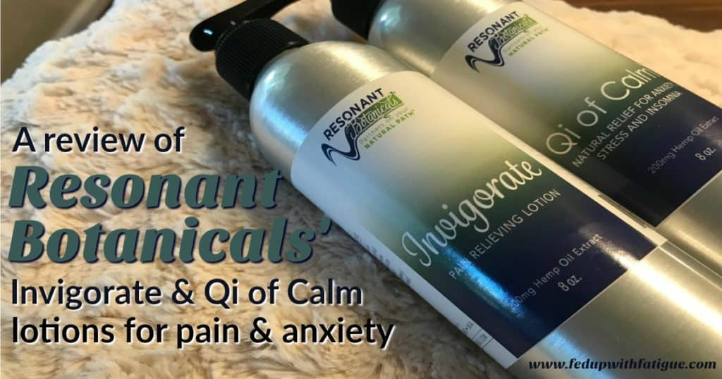 Resonant Botanicals review | Invigorate & Qi of Calm