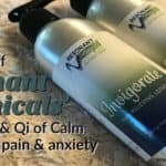 Resonant Botanicals review | Invigorate (now called Painless) and Qi of Calm (now called Calm Day) lotions