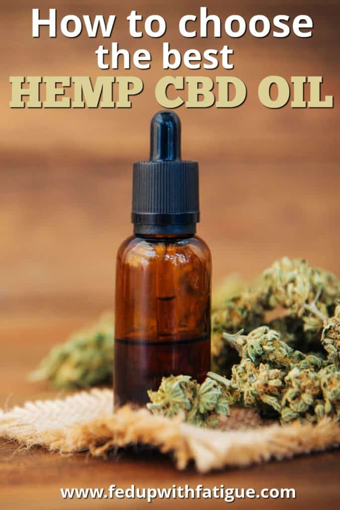 How to choose hemp CBD oil | Fed Up with Fatigue