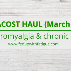 Vitacost haul for #fibromyalgia, chronic #Lyme (March 2018) | Fed Up with Fatigue
