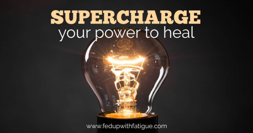 Supercharge your power to heal | Fed Up with Fatigue