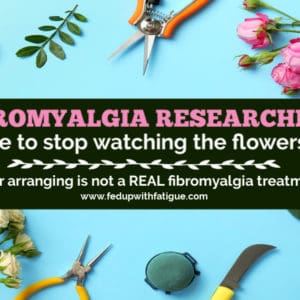 A recent Israeli study found flower arranging can improve #fibromyalgia symptoms. Yes, you read that right! Flower arranging! When will researchers finally take fibromyalgia more seriously? | Fed Up with Fatigue