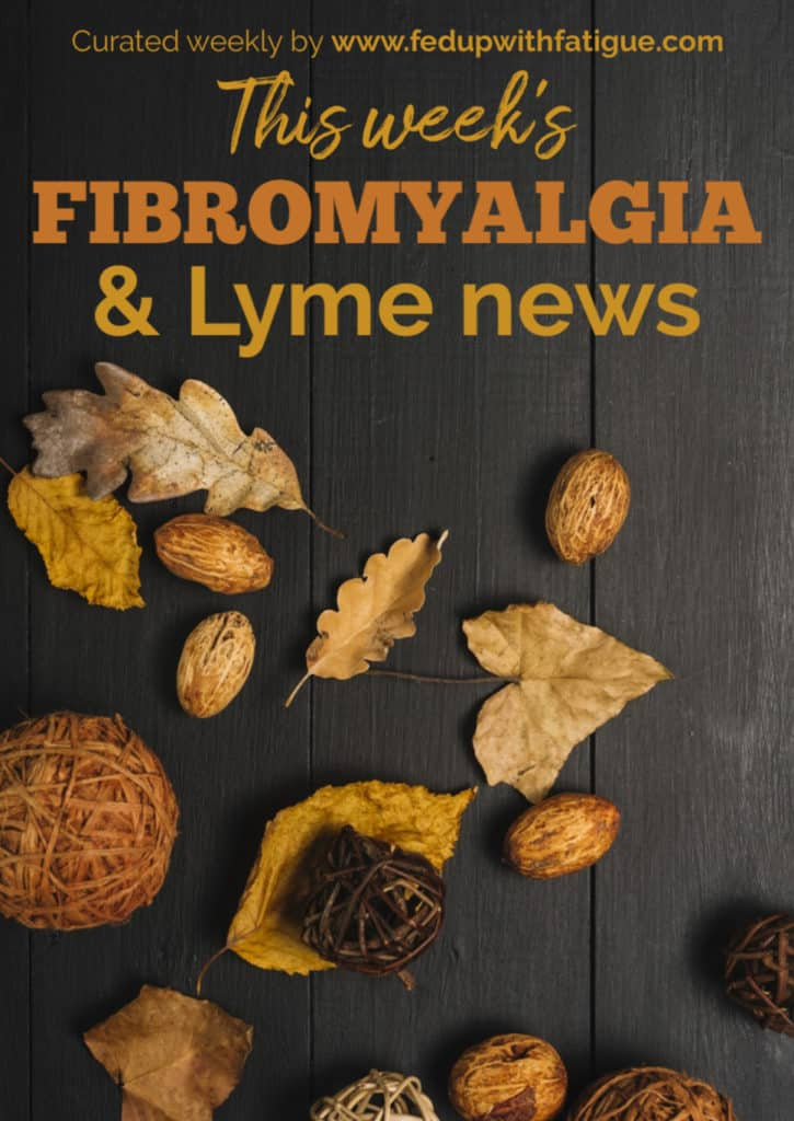 Nov. 22, 2019 news highlights: Biopharmaceutical company Aptinyx begins phase 2 trial for potential #fibromyalgia drug; #Lyme warrior launches company to link the chronically ill with employment opportunities; new study confirms many people with fibromyalgia have suffered past abuse; research shows naltrexone can repair immune cells of those with chronic fatigue syndrome; what we can learn from Germany about the opioid crisis and more! | Fed Up with Fatigue