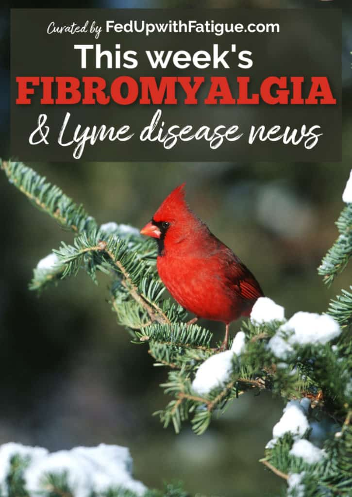 Dec. 27, 2019 #fibromyalgia & #Lyme news highlights: FDA adds warning labels to Lyrica and gabapentin; researchers develop new paper-based test to improve diagnosis rates of early-stage Lyme; the link between fibromyalgia and intracranial hypertension; how to use CBD oil; best books for living with chronic illness and more! | Fed Up with Fatigue