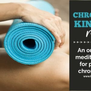 Chronically Kind Yoga review | An online yoga & meditation course for people with chronic illnesses