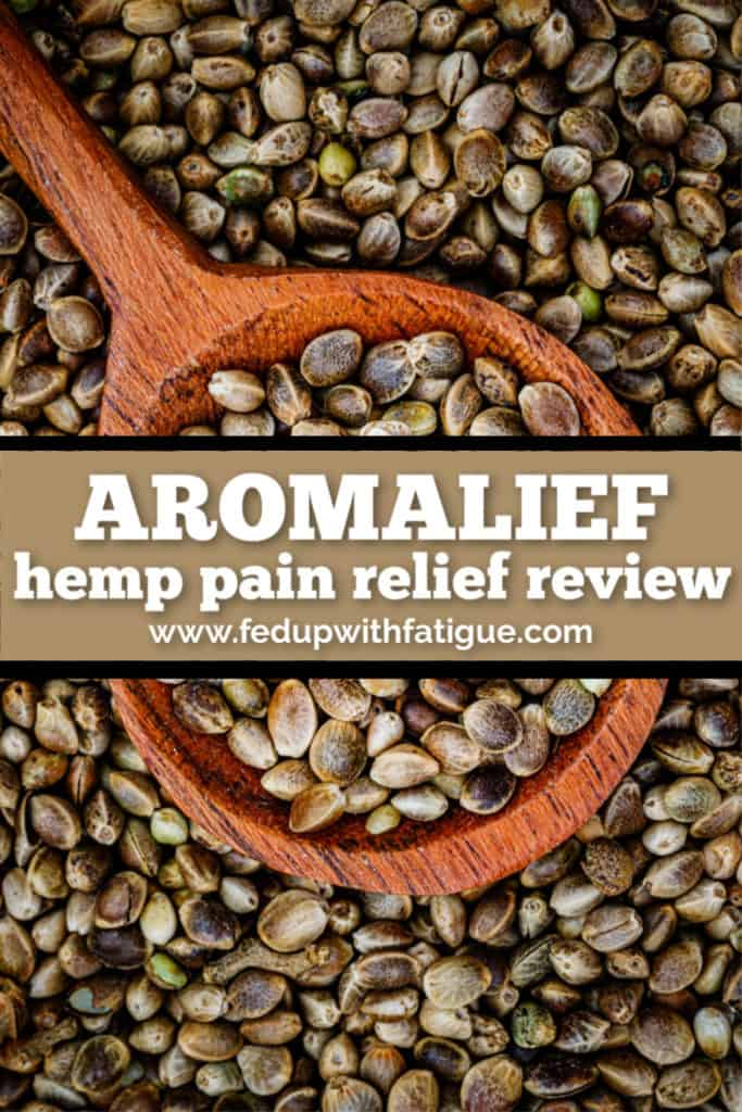 Aromalief hemp pain relief review | Fed Up with Fatigue