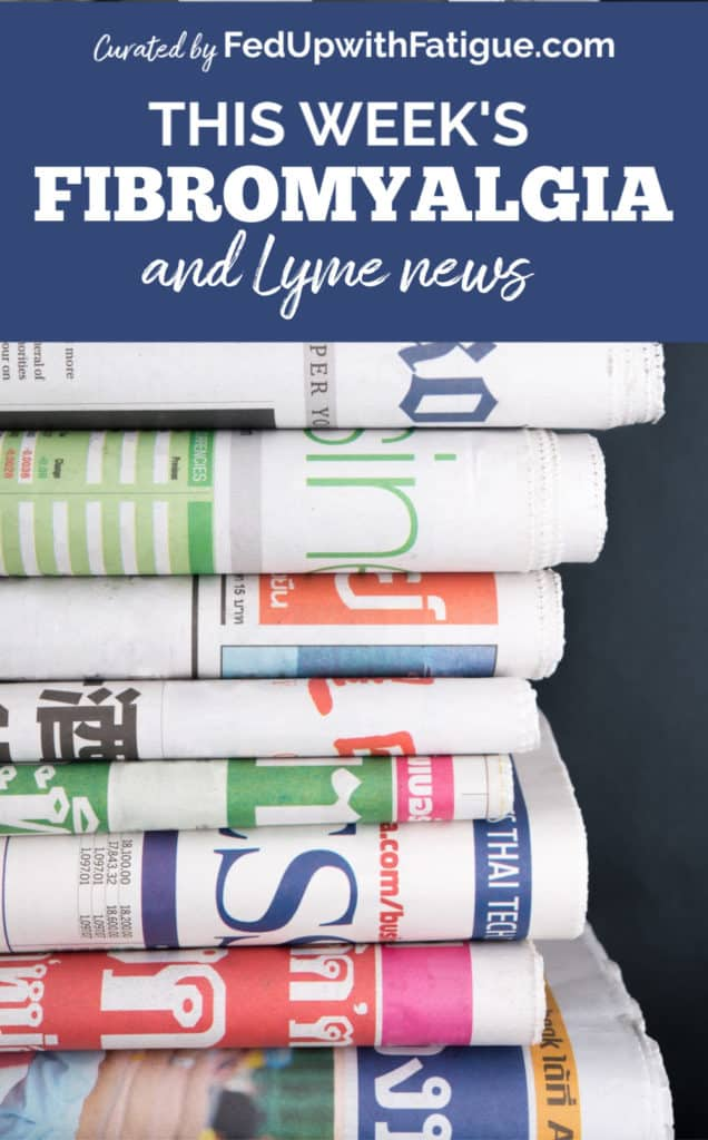 Aug. 21, 2020 fibromyalgia & Lyme news highlights: Yet another study implicates brain inflammation as possible cause of fibromyalgia symptoms; celebrities who have battled Lyme disease; getting ketamine infusions for chronic pain; therapy dogs for fibromyalgia; an easy tool to help make medical decisions; how cats manifest Lyme disease; new books on fibromyalgia and Lyme to help manage your chronic illnesses and more! | Fed Up with Fatigue