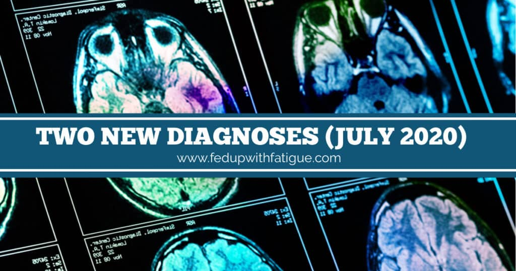 I've added two new diagnoses - chiari malformation and migraine - over the past few weeks. | Fed Up with Fatigue