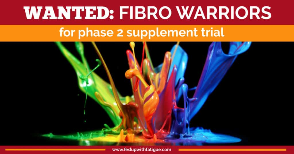 Fibromyalgia patients needed for phase 2 Recovery Factors trial. | Fed Up with Fatigue